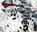 Blood hand prints_BULLET GAL